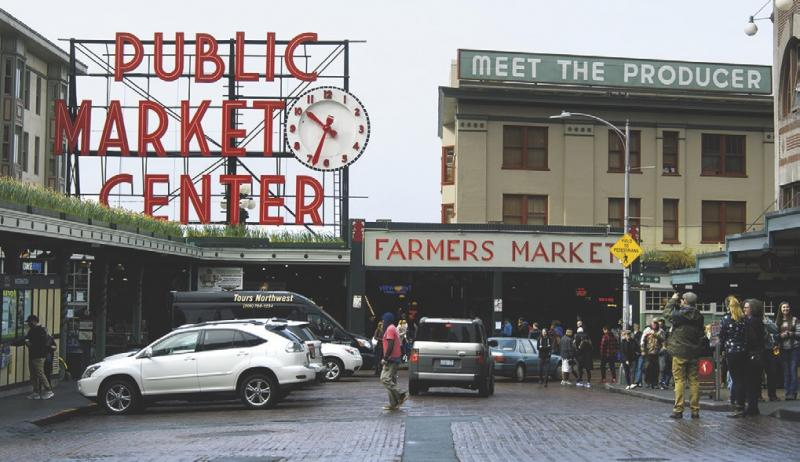 that one famous market in seattle