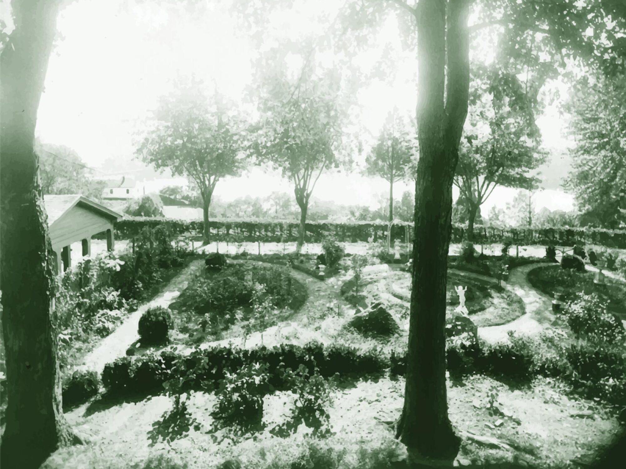 infirmary garden