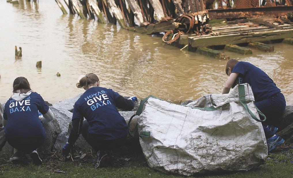 Club of Metro New York: Riverside Park clean up