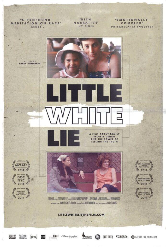 little white lie movie poster