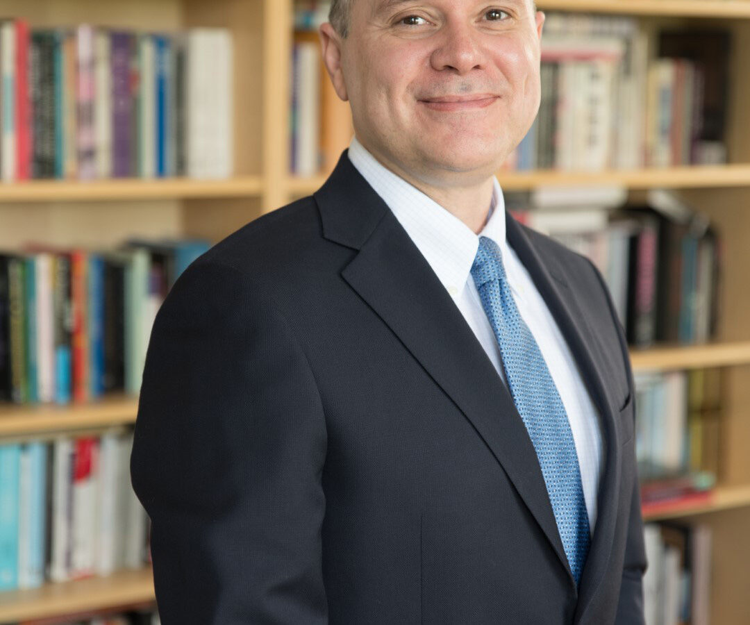 Professor of English Eddie Maloney is executive director of the university's Center for New Designs in Learning and Scholarship